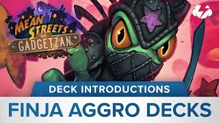 Hearthstone Deck Introductions: Finja Aggro Decks.