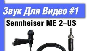 Микрофон петличный Sennheiser ME 2 US – подводные камни