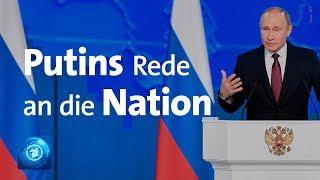 Putin hält Rede an die Nation: Präsident verspricht Verbesserungen für Russland