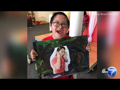 Art Created By Teens With Down Syndrome Featured At Chicago Gallery