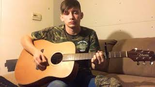 She got the best of me Luke Combs cover Video