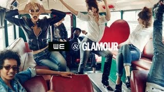 WE & Glamour - Behind the scenes Thumbnail