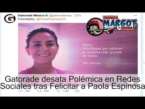 Gatorade desata Polémica en Redes Sociales tras Felicitar a Paola Espinosa