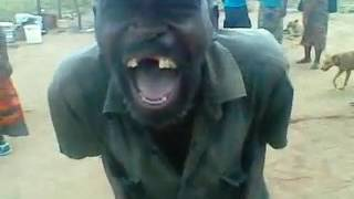 funny video:African Man laughing