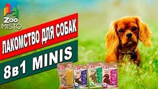 Лакомство для собак 8в1 Минис    Обзор лакомства для собак   8in1Minis - review