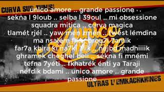 Ultras L'emkachkhines | Unico Amore 2019 Parole