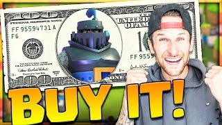BUYING THE MEGA KNIGHT!! Clash Royale Mega Knight Deck