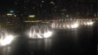 Dubai Fountain - The Prayer - 2013.03.18