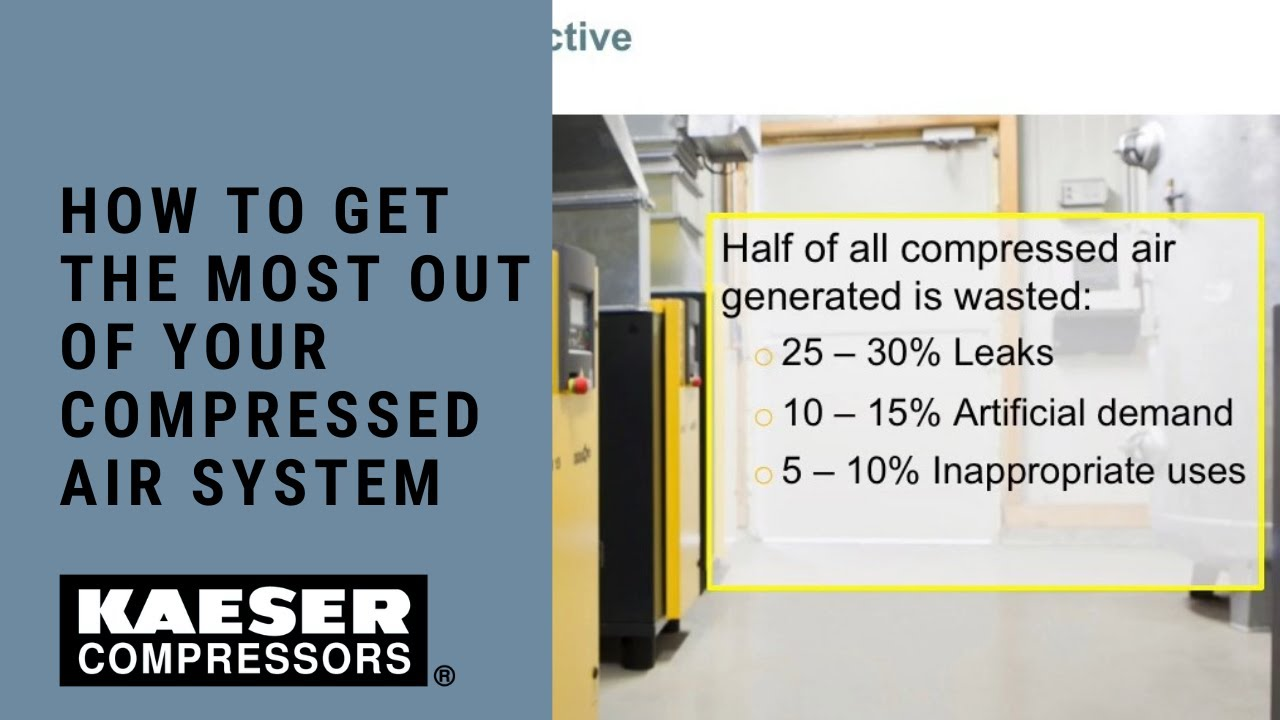 How to Get the Most Out of Your Compressed Air System