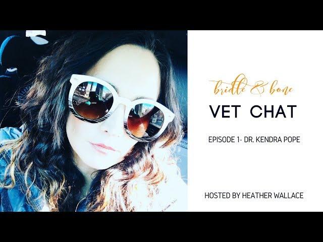 Bridle & Bone Vet Chat Episode 1