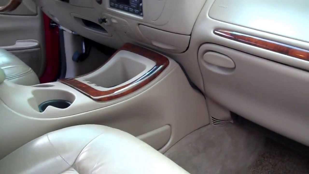 1998 lincoln navigator base w leather interior [ 1280 x 720 Pixel ]