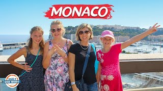 Monaco Travel Guide - Playground of the Rich & Famous | 90+ Countries With 3 Kids
