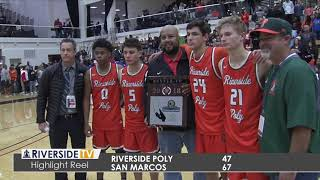 Highlight Reel - CIF Southern Section Basketball Finals