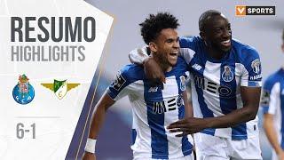 Highlights   Resumo: FC Porto 6-1 Moreirense (Liga 19/20 #33)