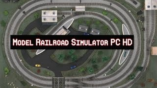 Model Railroad Simulator Gameplay PC HD