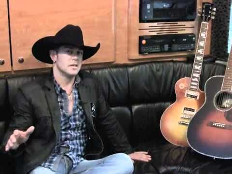 Gibson - Aaron Pritchett Interview @ the 2010 CCMA's