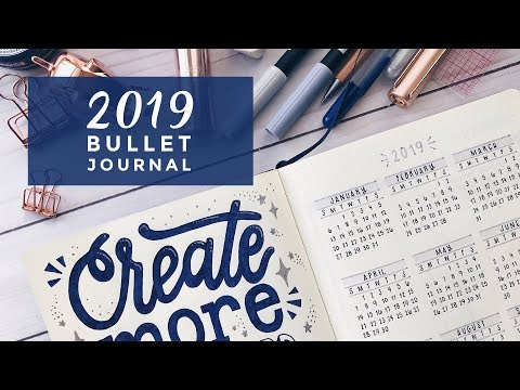 2019 Bullet Journal Setup · Plan With Me