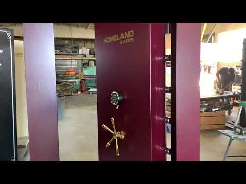 80x30 Inswing Vault Door Level II - Homeland Safes