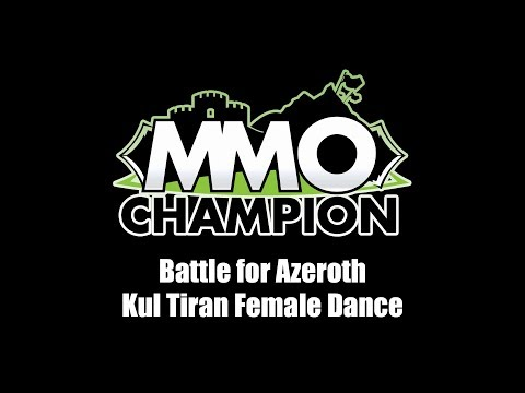 Patch 8.1.5 - Kul Tiran Female Dance