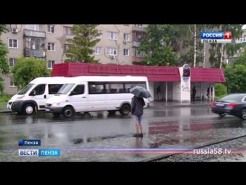 Ненастная погода в Пензенской области ожидается в течение всей недели