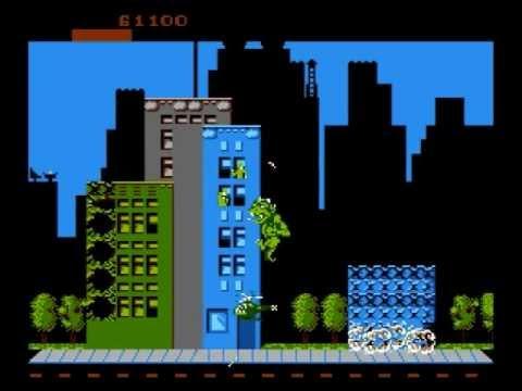 Rampage Angespielt Nintendo Entertainment System Charakter