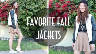 Favorite Fall Jackets