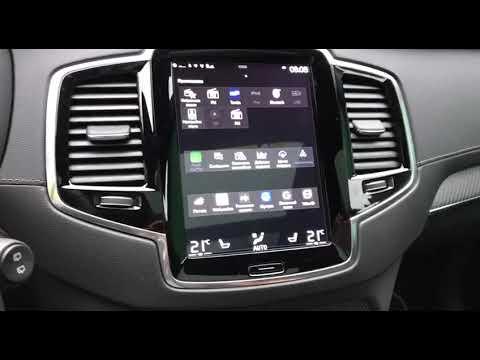 Google Maps через Car Play на Volvo XC90