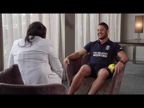 Jarryd Hayne Interview
