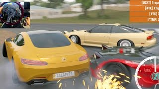 Forza Horizon 3 GoPro NO Traffic Glitch!! FREEDOM Online!! AMG GTS