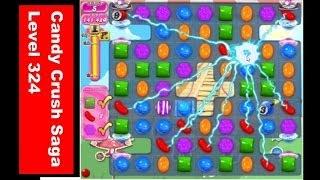 Candy Crush Saga Level 324 キャンディークラッシュ 涙のクリア