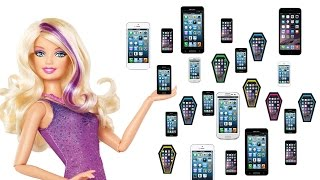Cómo hacer teléfonos celulares para tus muñecas barbies, Monster High, American girls, etc
