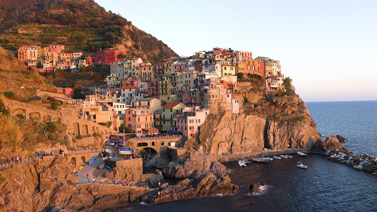 Cinque Terre, Italy in 4K Ultra HD on