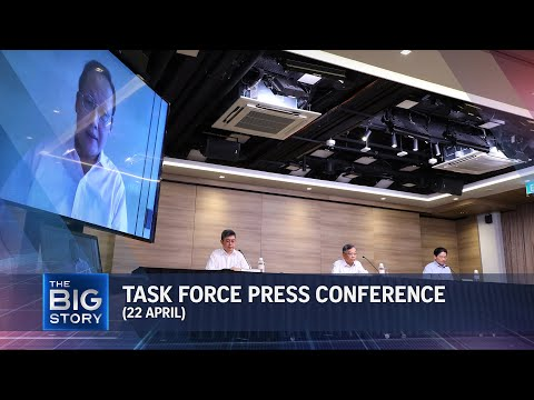 Task force press conference | More curbs for travellers from India, new migrant workers (April 22)