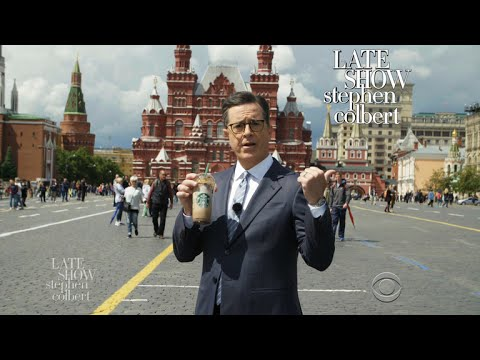 Stephen Kicks Off 'Russia Week' From Red Square