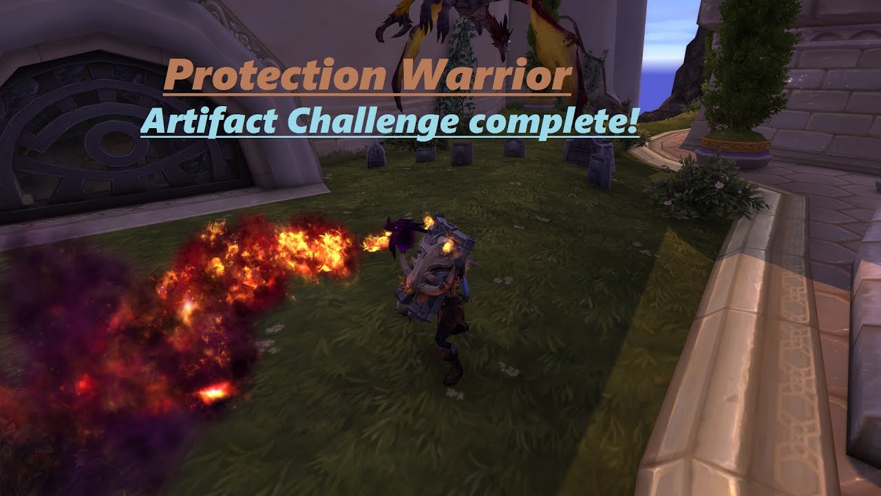 Protection Warrior Challenge complete (908ilvl 48 traits