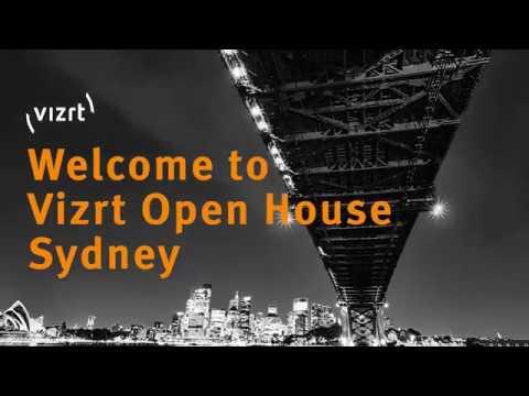 Vizrt Open House Sydney
