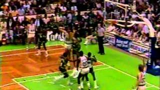 '1986 Boston Celtics' Another Great Win vs Milwaukee Bucks (1986 ECF Game 2)