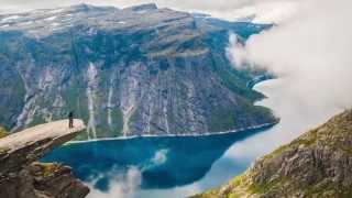 The beauty of Norway - timelapse movie by Krzysztof Palacz
