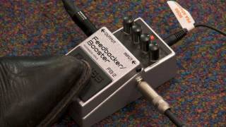 Repeat youtube video Boss FB-2 Feedbacker Booster Guitar Pedal Overview | Full Compass