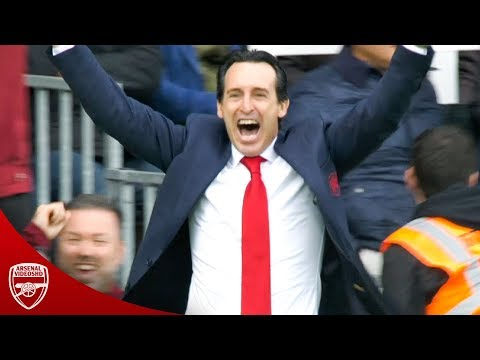 Unai Emery Crazy Celebrations & Funny Moments!