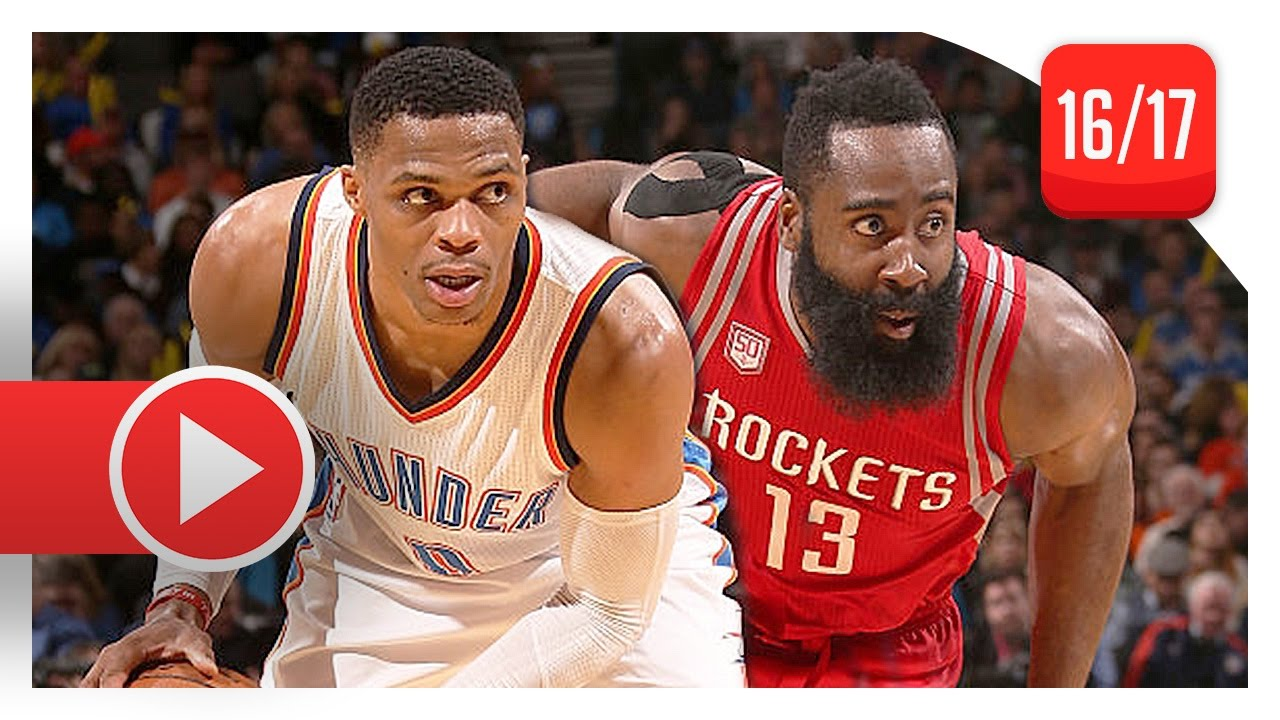 67d27c6b20f5 James Harden vs Russell Westbrook Duel Highlights (2016.12.09) Thunder vs  Rockets - TOO SICK! - YouTube