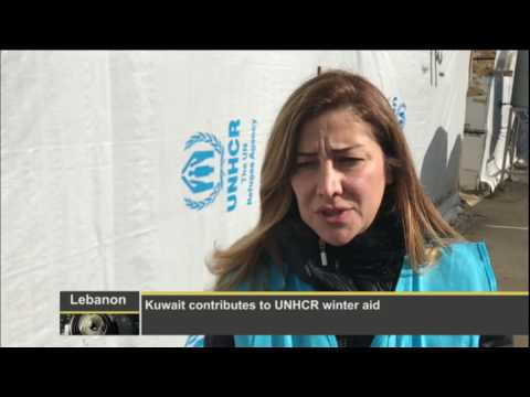 Kuwait contributes to UNHCR winter aid