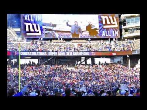 "NY Giants ""All In"" Anthem 2013"