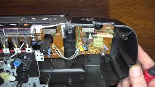Ремонт касетного магнитофона