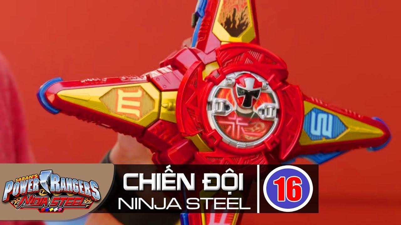 Siêu Nhân Chiến Đội Ninja Steel Tập 16 : Phi Tiêu Bị Đánh Cắp