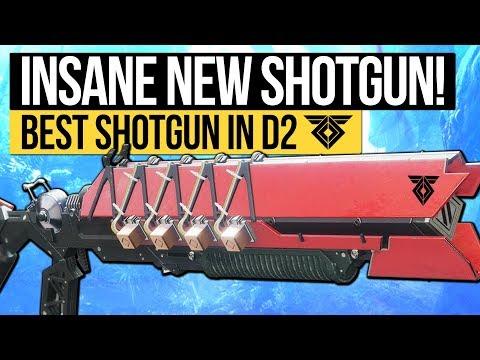 Destiny 2 | INSANE NEW SHOTGUN! The Ikelos Shotgun: The Best Shotgun In D2! (Warmind DLC Weapon)