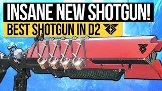 Destiny 2   INSANE NEW SHOTGUN! The Ikelos Shotgun: The Best Shotgun in D2! (Warmind DLC Weapon)