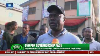 Oyo PDP Candidate Promises Better Attention To Education