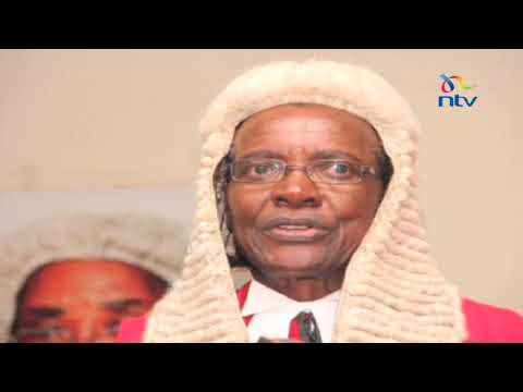 CJ Maraga described as a firm believer in the rule of law