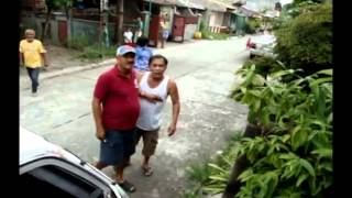 War freak Barangay Captain and his wife (Brgy UBL San Pedro Laguna)